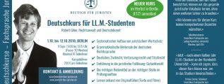 Deutschkurs – Fachsprache Jura